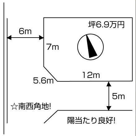 新旭町藁園略図